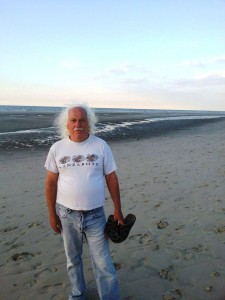 Manfred am Strand