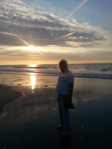 Sonnenuntergang Manfred
