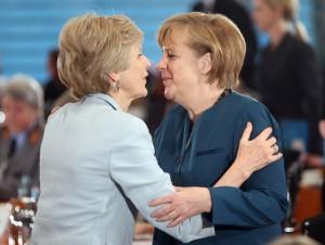 Angela Merkel und Friede Springer // Foto: zizzup (flickr.com) // CC-BY