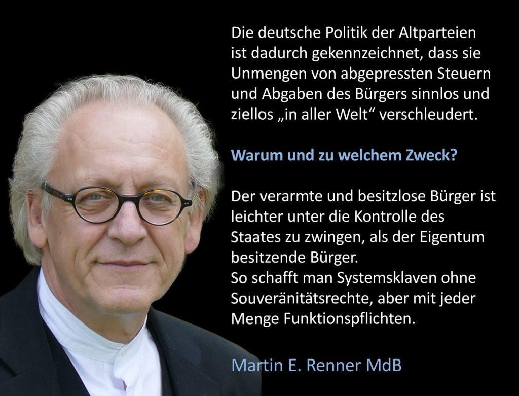 So sieht das aus! Mündig Bürger würden auch die etablierten Parteien zum Teufel jagen! Aber der anständige Deutsche wählt sie!